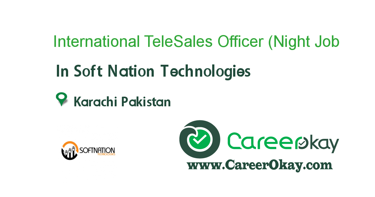 International TeleSales Officer (Night Shift)