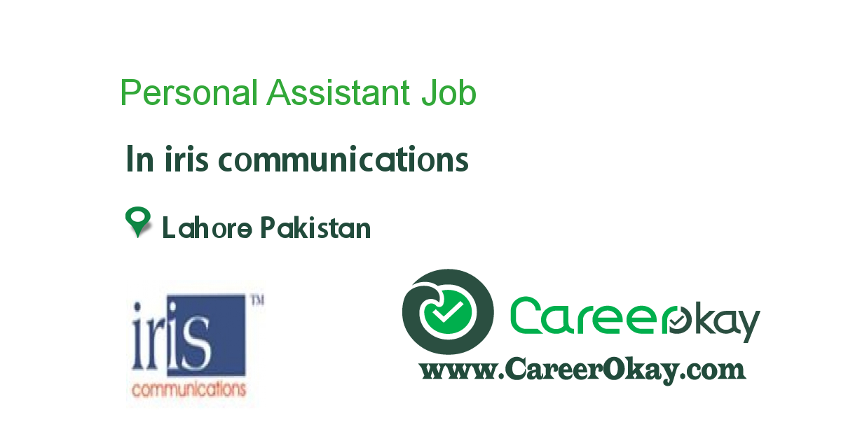 Personal Assistant - Lahore