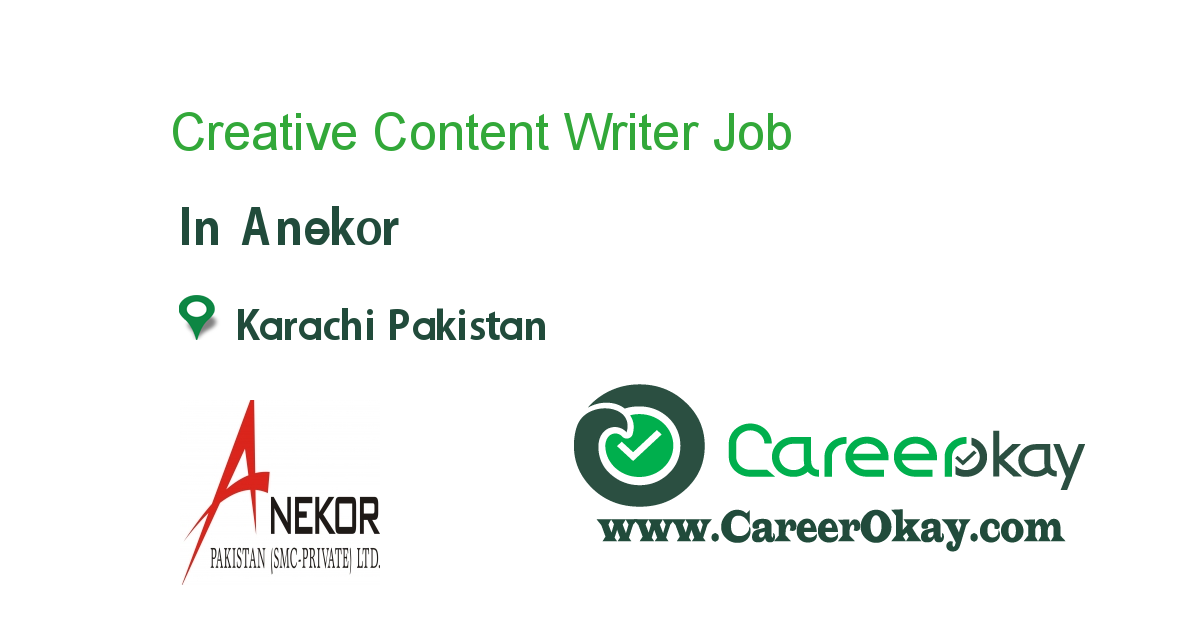 Creative Content Writer