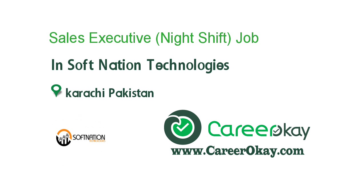 Sales Executive (Night Shift)