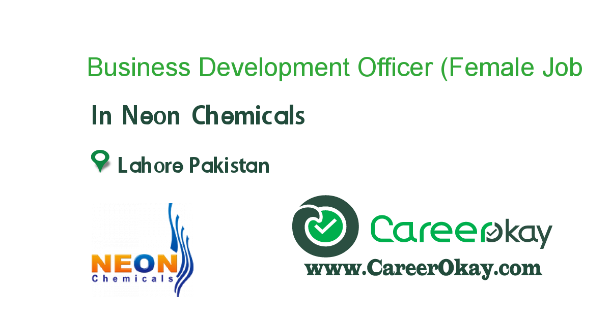 Business Development Officer (Female Only)