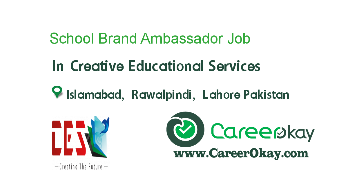 School Brand Ambassador