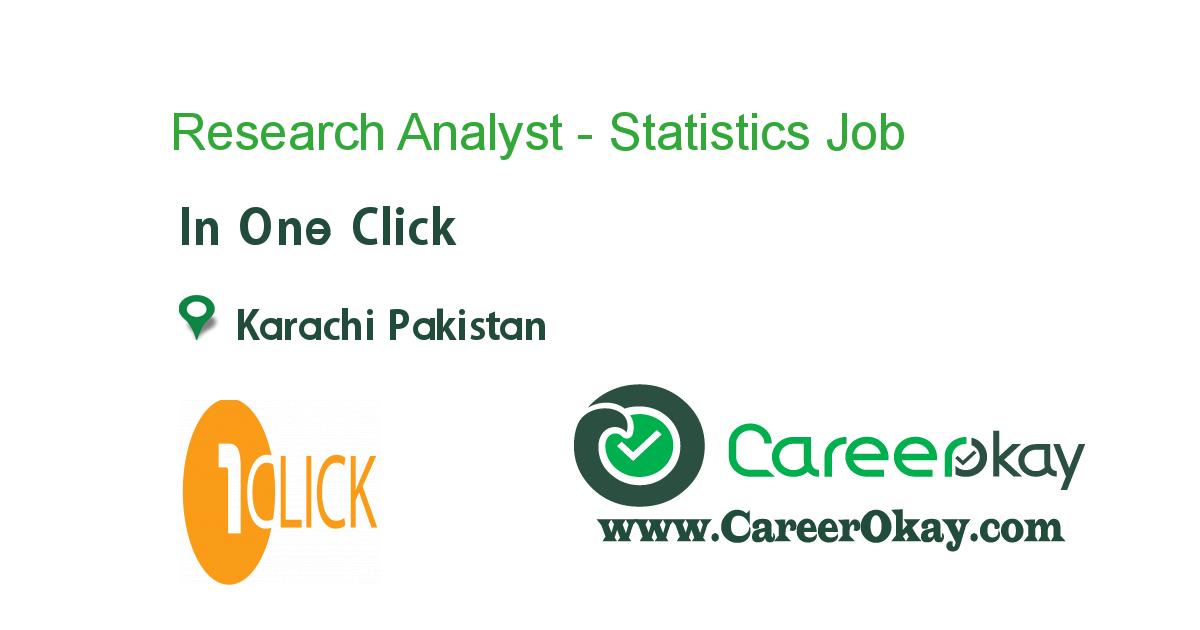 Research Analyst - Statistics