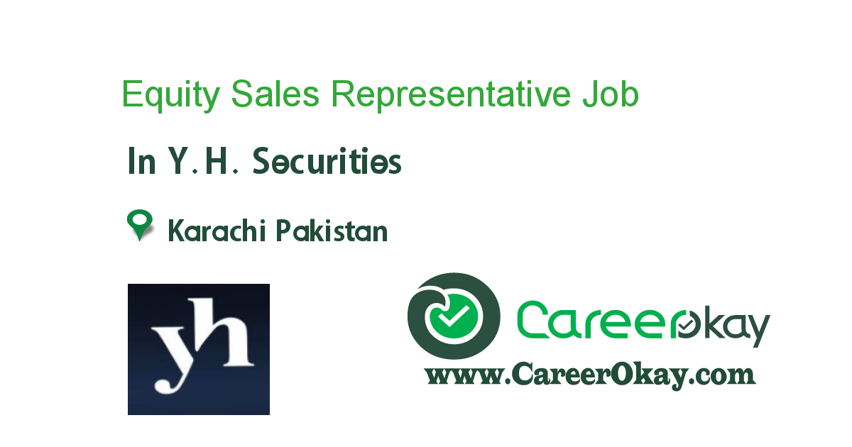 Equity Sales Representative