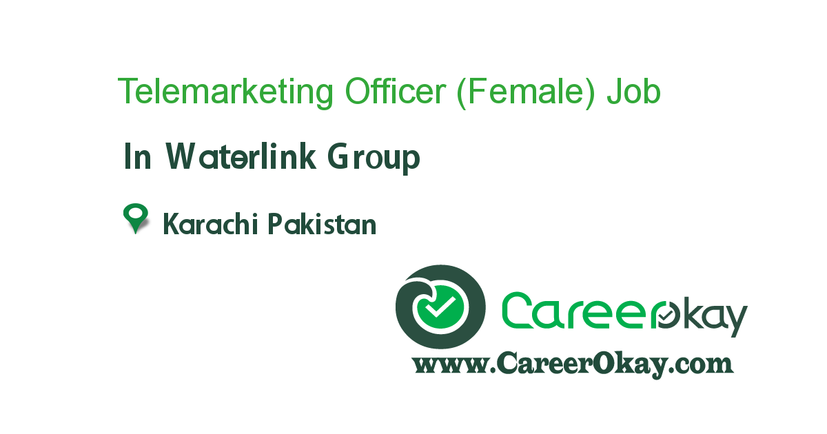 Telemarketing Officer (Female)