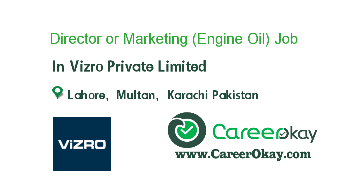 Director Marketing (Engine Oil)