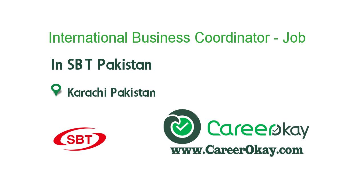 International Business Coordinator - Night Shift