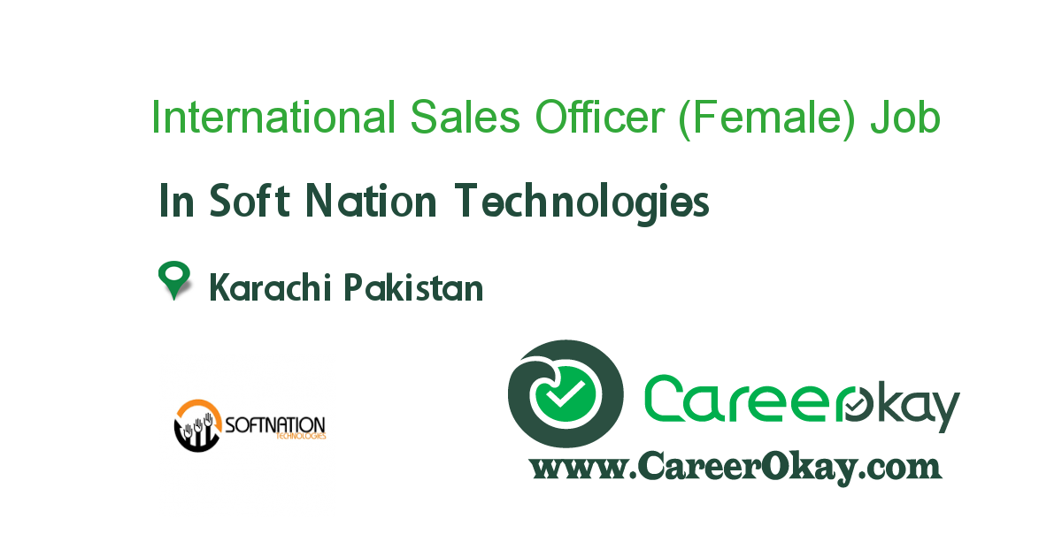 International Sales Officer (Female)