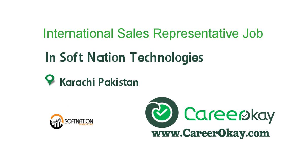 International Sales Representative
