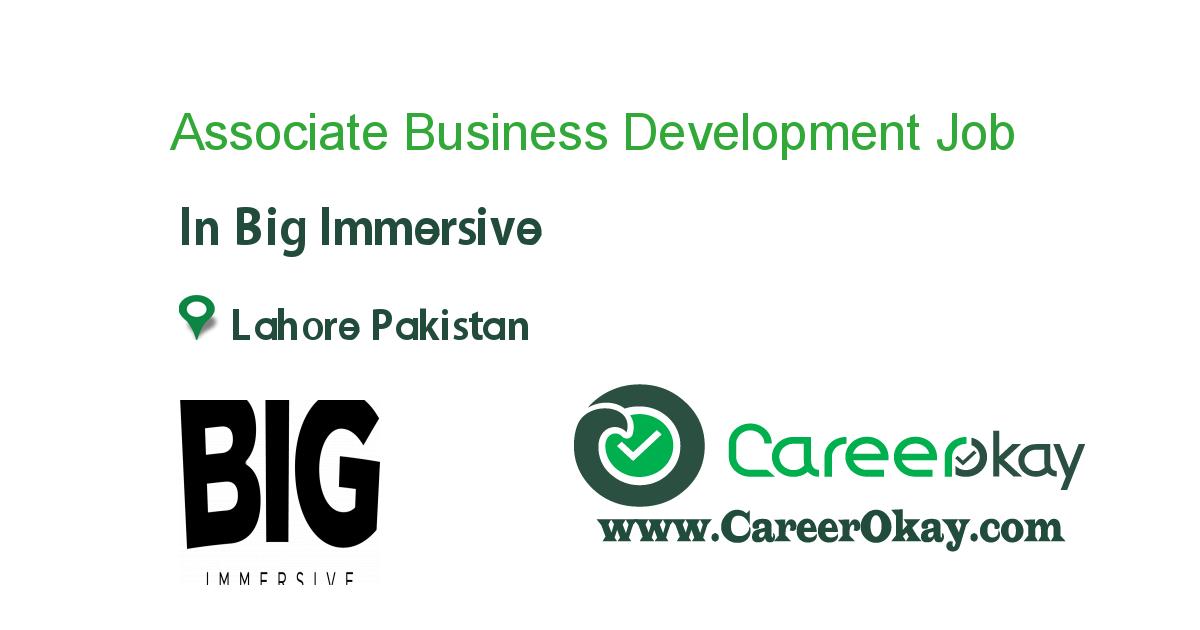 Associate Business Development