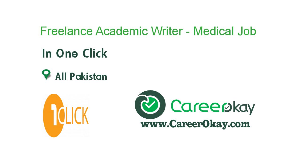 Freelance Academic Writer - Medical