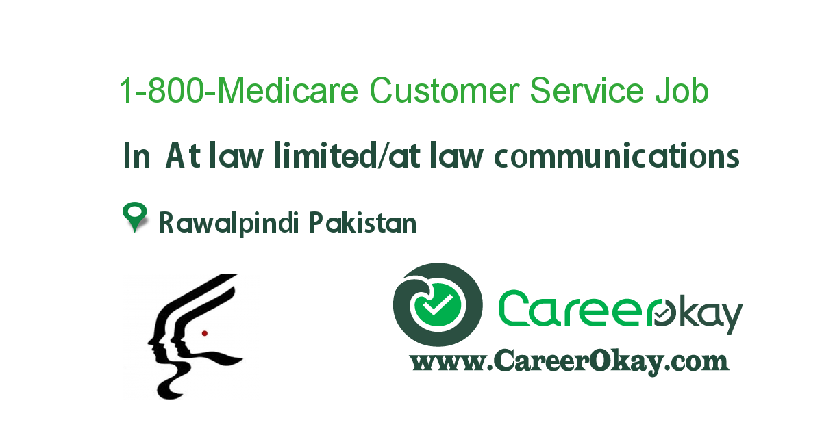 1-800-Medicare Customer Service Representative