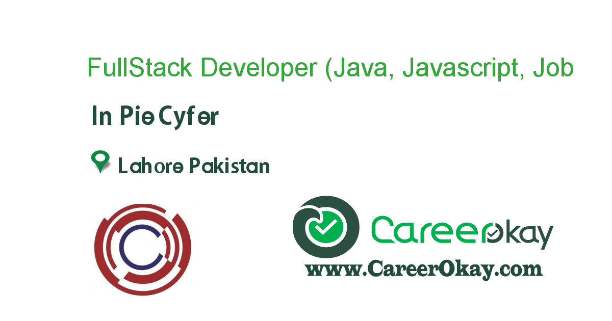 FullStack Developer (Java, Javascript, JQuery, MySQL)