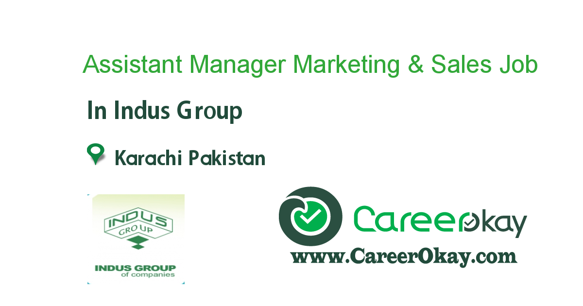 Assistant Manager Marketing & Sales