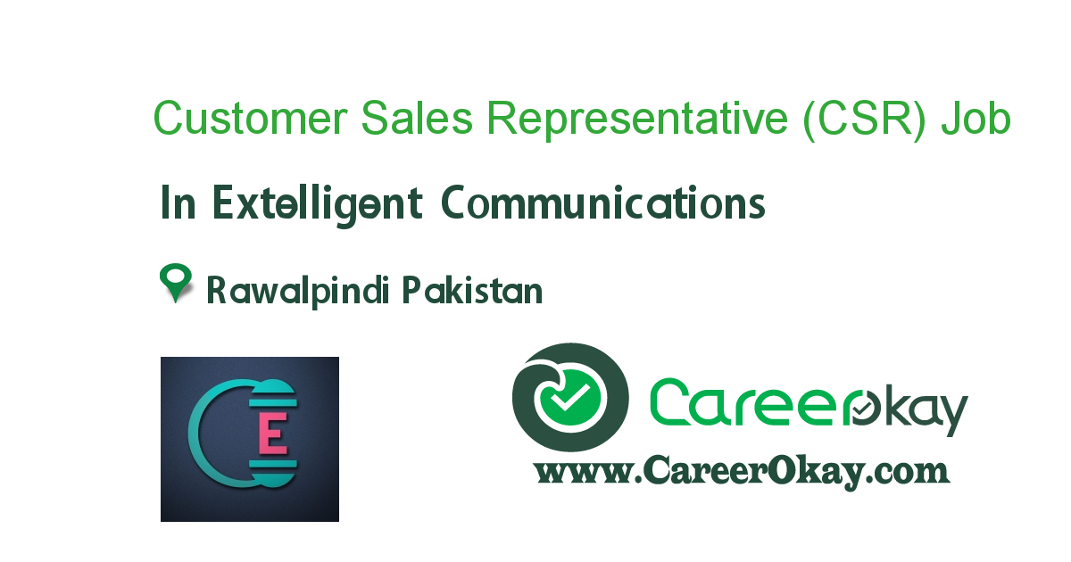 Customer Sales Representative (CSR)