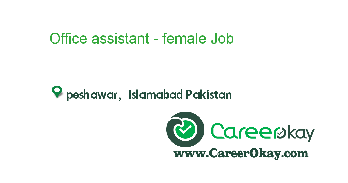 Office assistant - female