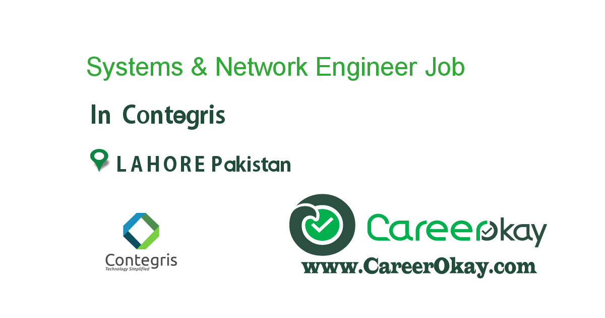 Systems & Network Engineer