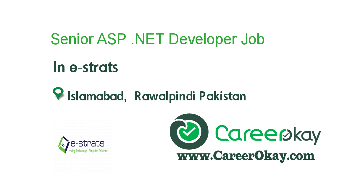 Senior ASP .NET Developer