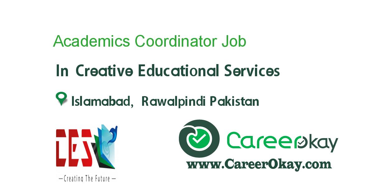 Academics Coordinator