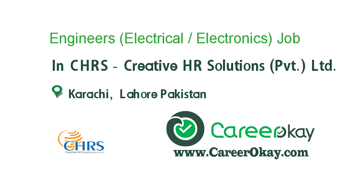 Engineers (Electrical / Electronics)