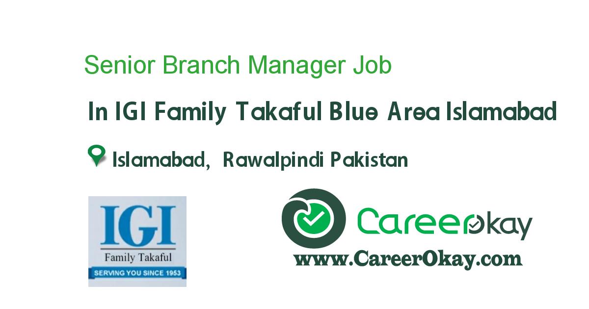 Senior Branch Manager
