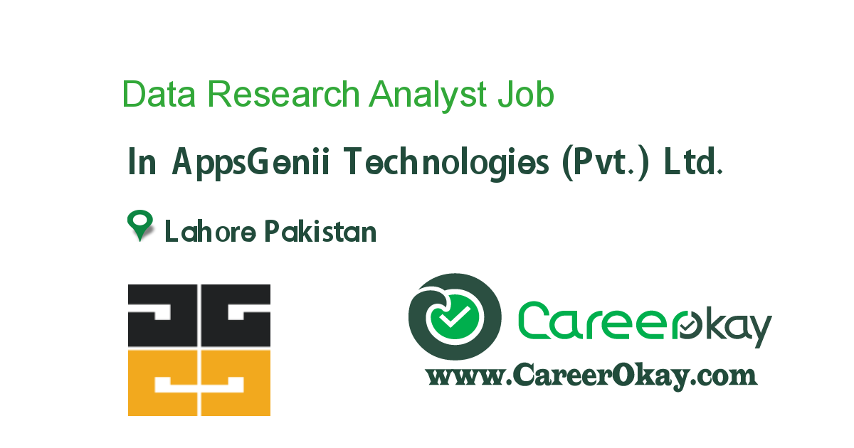 Data Research Analyst
