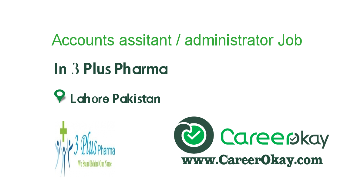 Accounts assitant / administrator