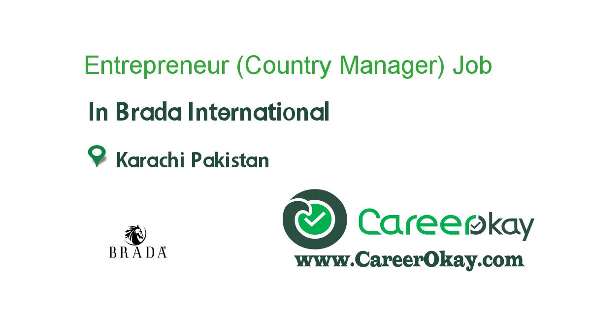 Entrepreneur (Country Manager) Sales Marketing Business Dev.