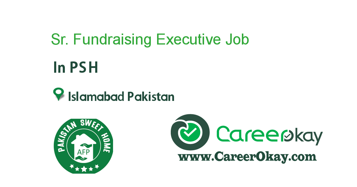 Sr. Fundraising Executive