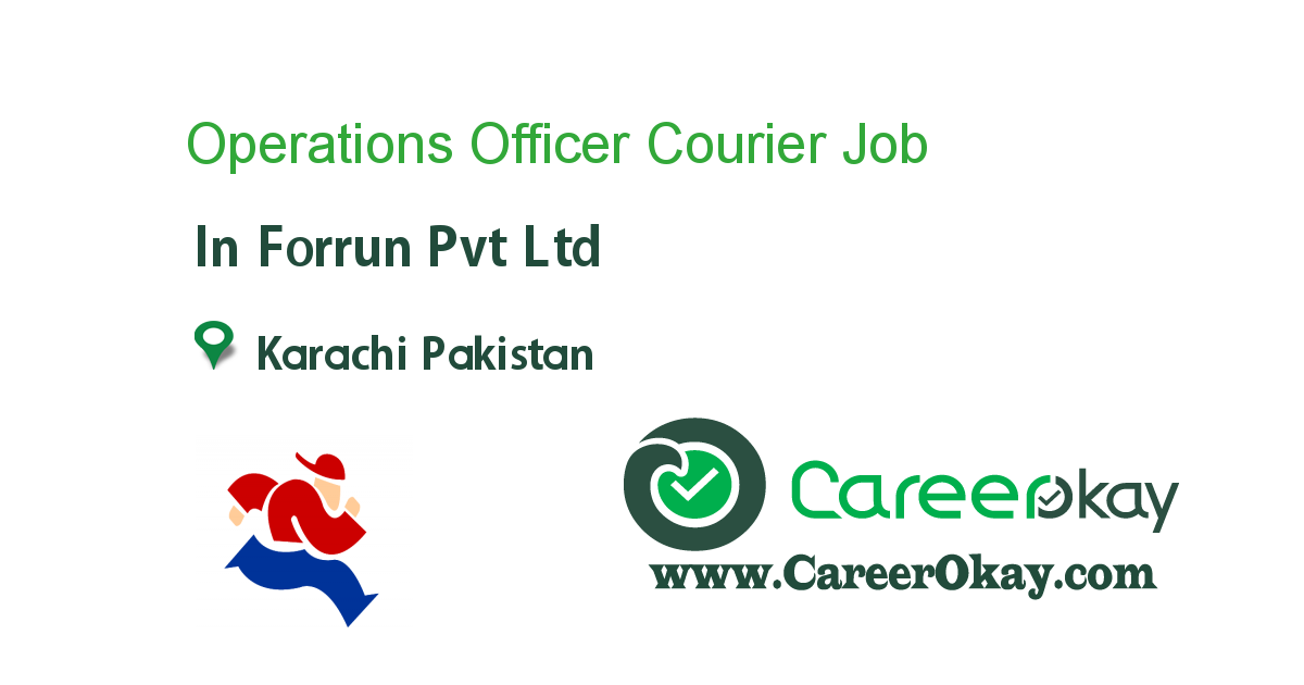 Operations Officer Courier