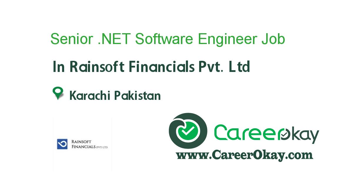 Senior .NET Software Engineer