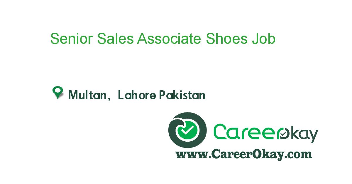 Senior Sales Associate Shoes