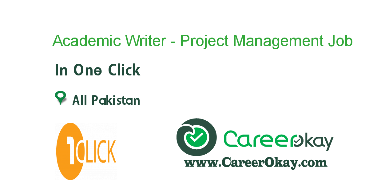 Academic Writer - Project Management
