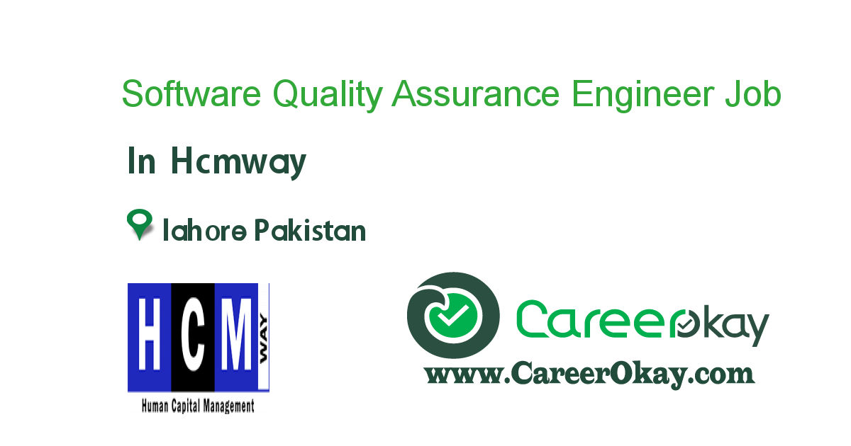 Software Quality Assurance Engineer