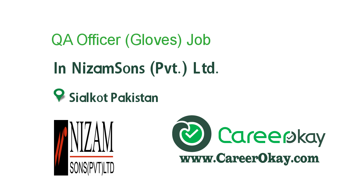 QA Officer (Gloves)