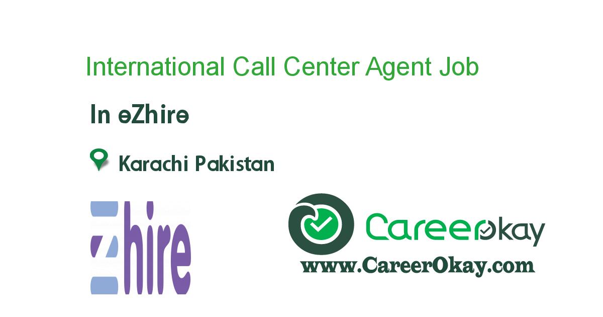 International Call Center Agent