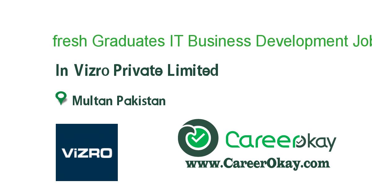 fresh Graduates IT Business Development Internship