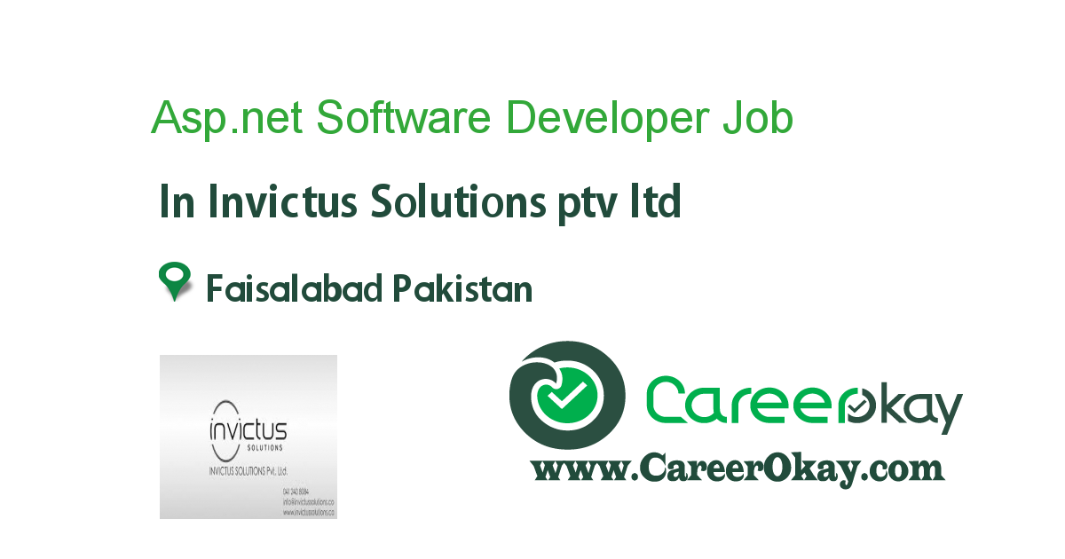 Asp.net Software Developer