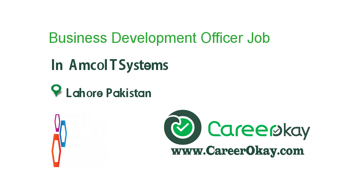 Business Development Officer