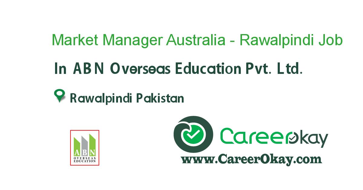 Market Manager Australia - Rawalpindi