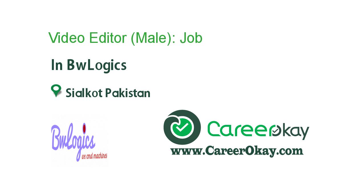 Video Editor (Male):