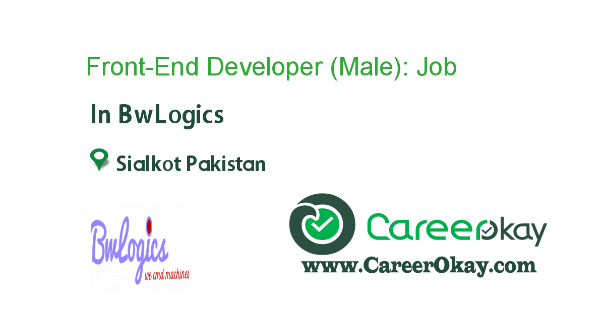 Front-End Developer (Male):