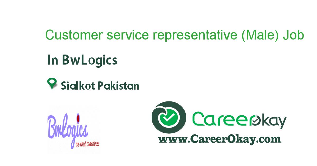 Customer service representative (Male)