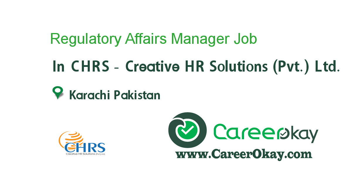 Regulatory Affairs Manager