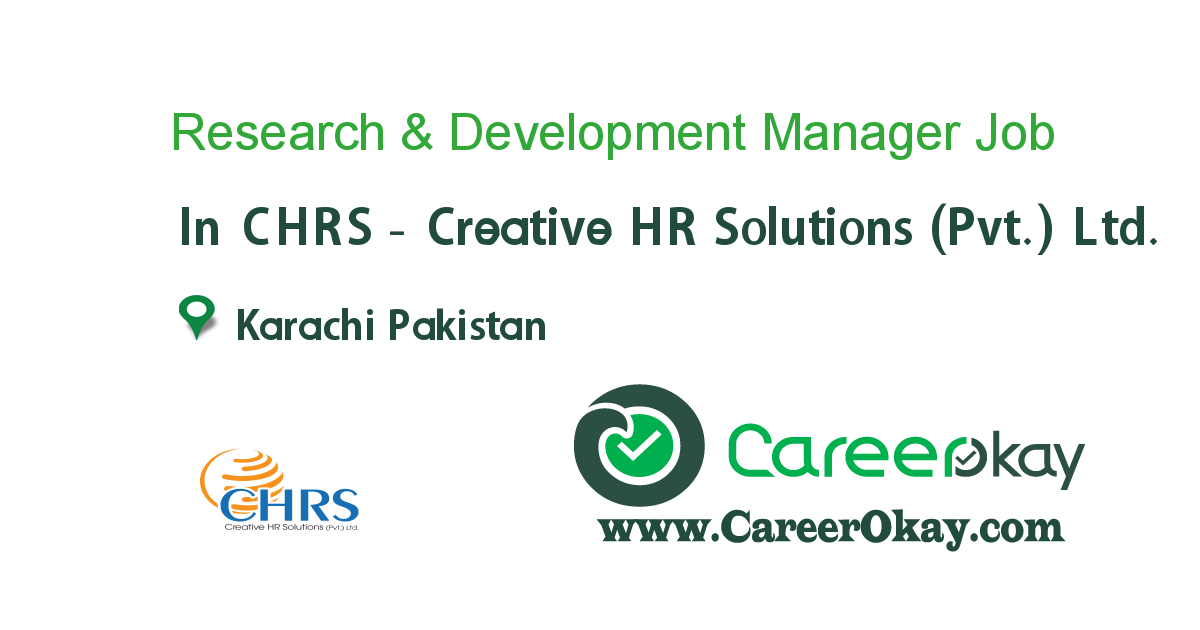 Research & Development Manager