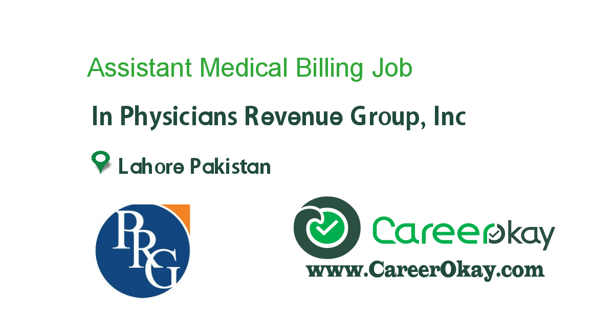 Assistant Medical Billing