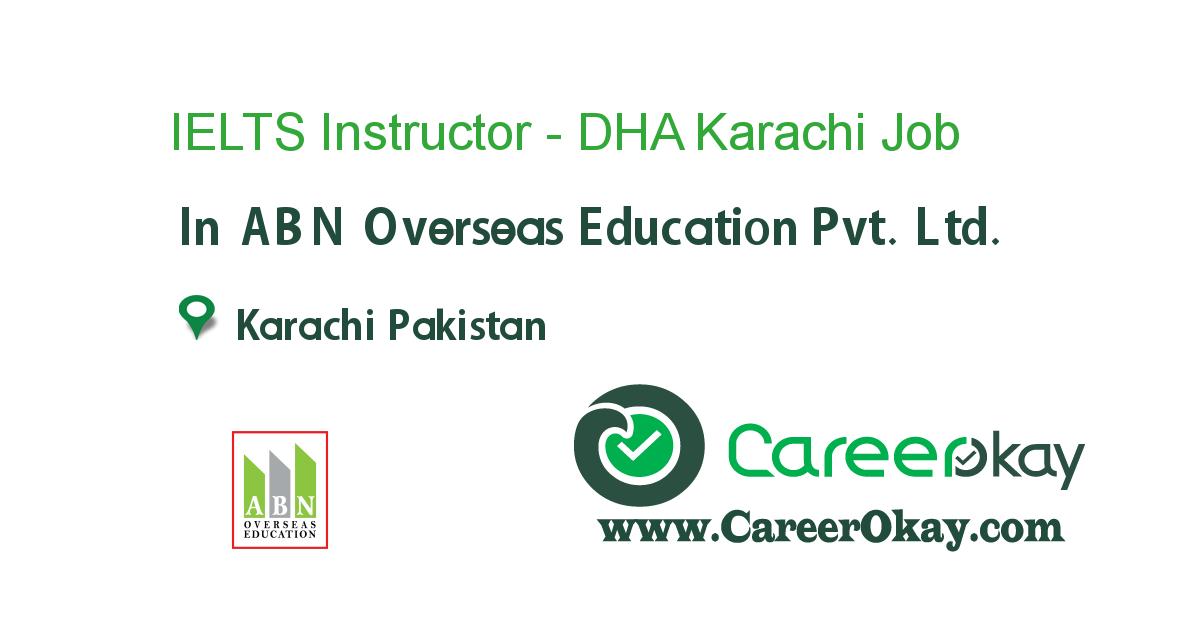 IELTS Instructor - DHA Karachi