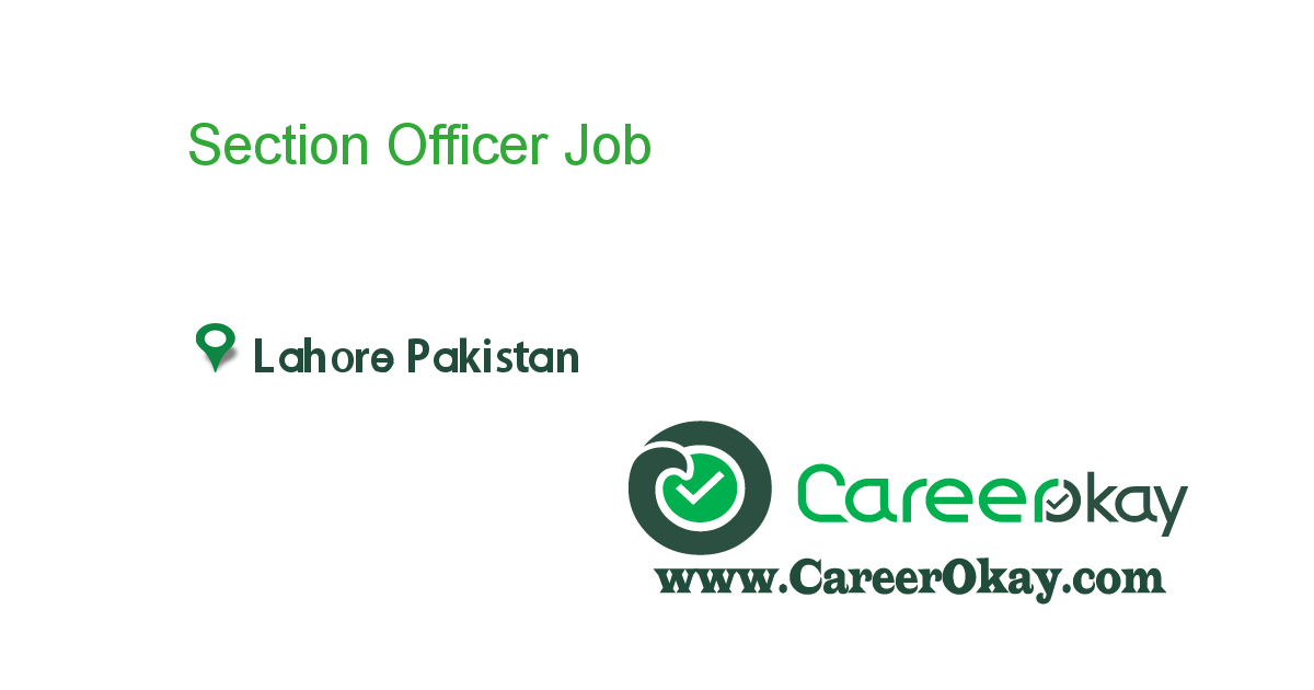 Section Officer