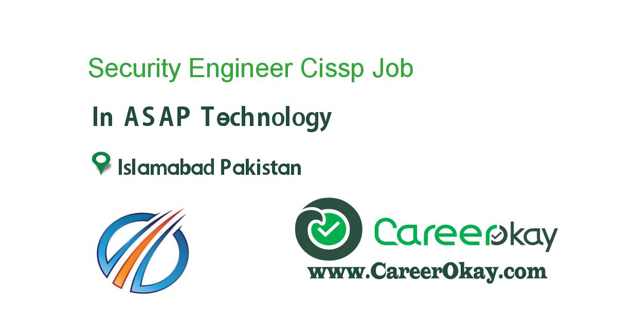 Security Engineer Cissp