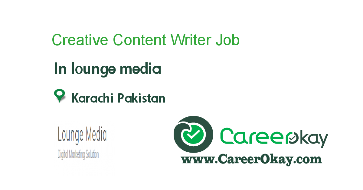 Creative Content Writer